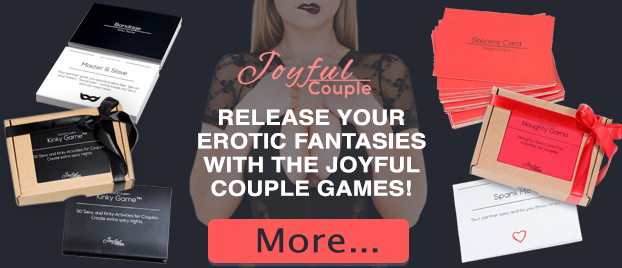 Release your erotic fantasies with the Joyful Couple games!