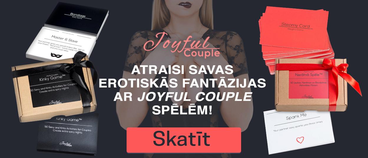 """Išspręsk savo erotines fantazijas su """"Joyful Couple"""" žaidimais!"""