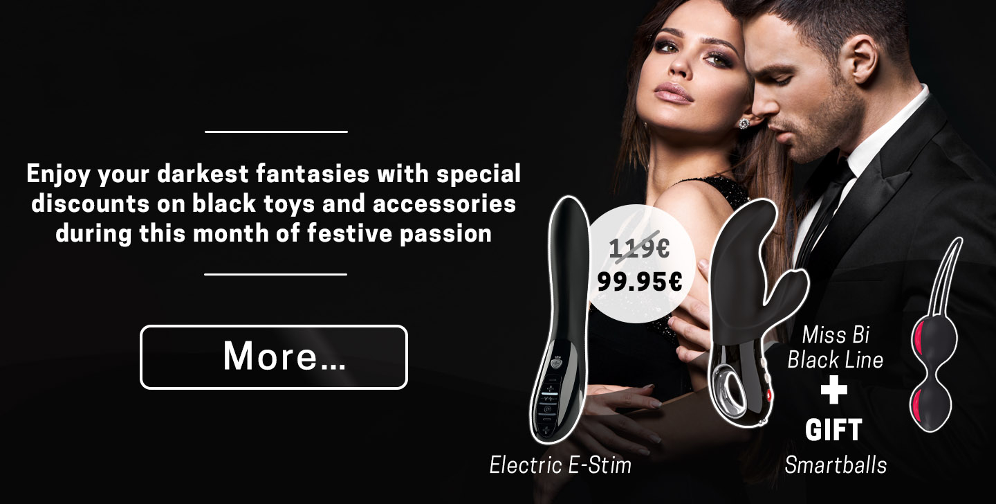 Not Your Usual Valentine's Enjoy your darkest fantasies with special discounts on black toys and accessories during this month of festive passion