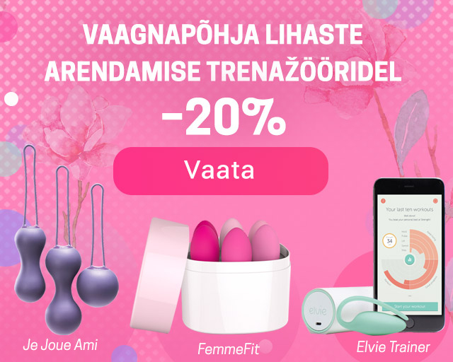 20% off for pelvic floor exercisers