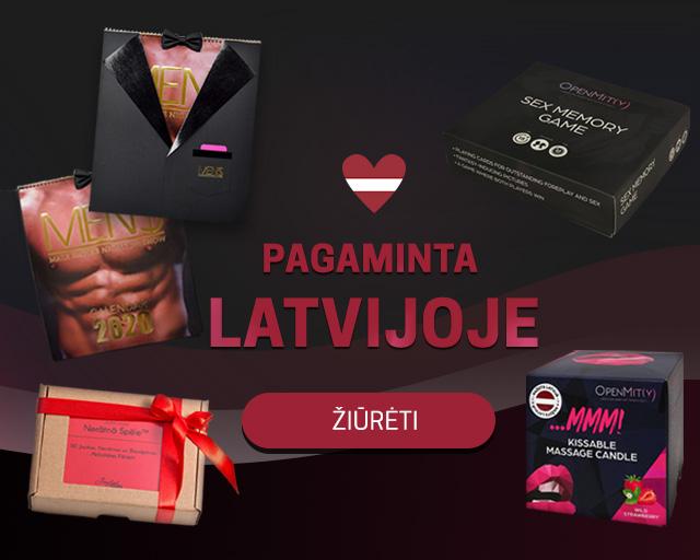 Pagaminta Latvijoje
