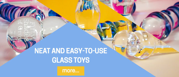 Neat and easy-to-use glass toys