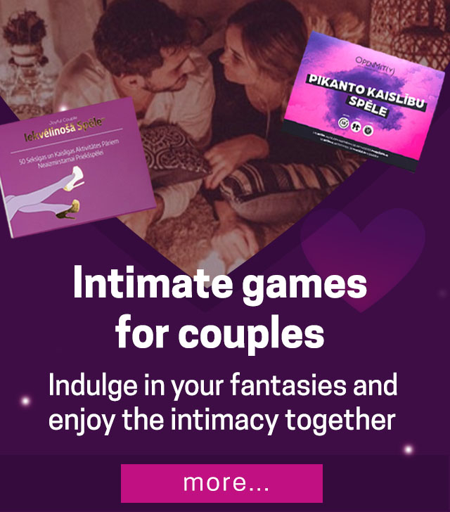 Intimate games  for couples Indulge in your fantasies and  enjoy the intimacy together