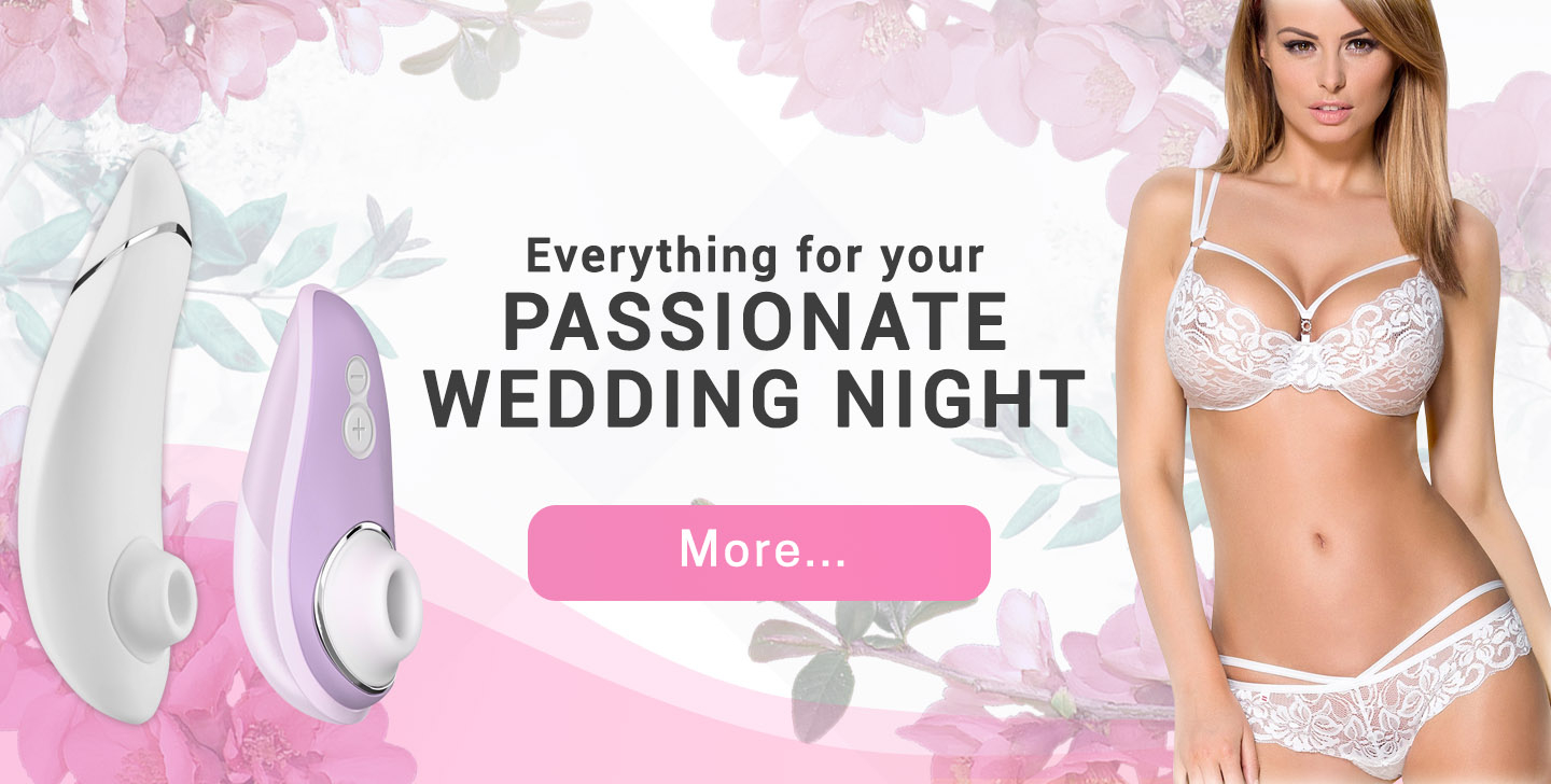 Everything for your passionate wedding night