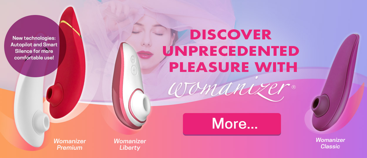 Discover unprecedented pleasure with Womanizer