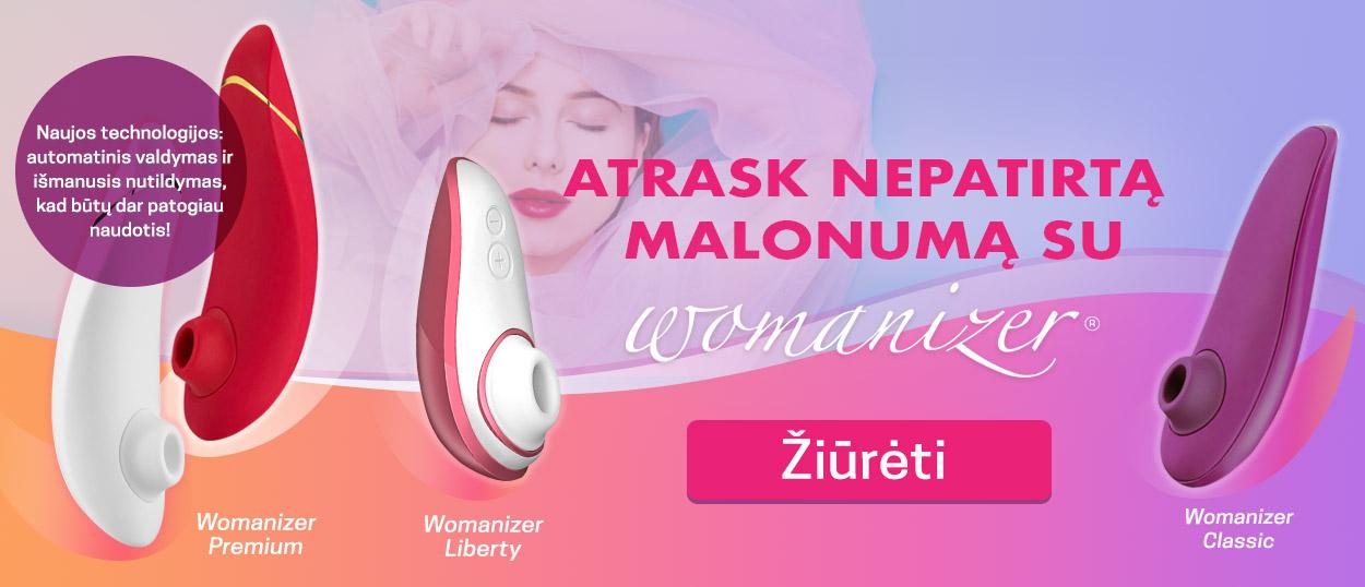 """Atrask nepatirtą malonumą su """"Womanizer"""" Naujos technologijos: automatinis valdymas ir išmanusis nutildymas, kad būtų dar patogiau naudotis!"""