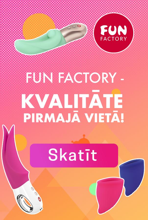 Fun Factory - kvalitāte pirmajā vietā!