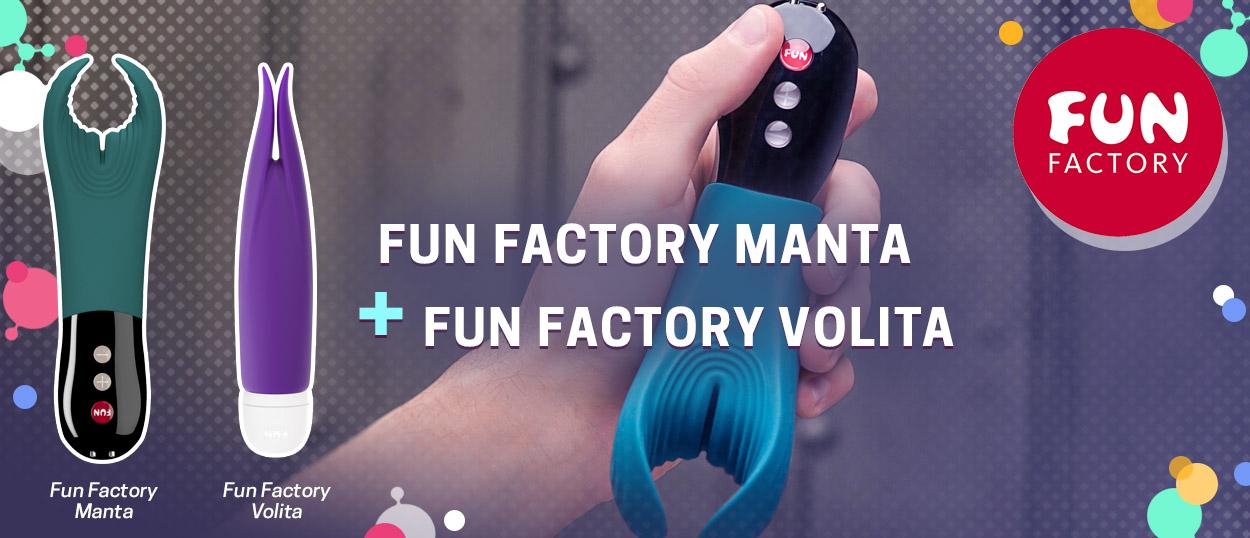 Pērc Fun Factory Manta  un dāvanā saņem Fun Factory Volita