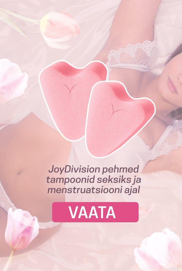 JoyDivision pehmed tampoonid seksiks ja menstruatsiooni ajal