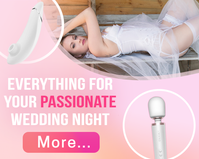 Everything for your passionate wedding night.