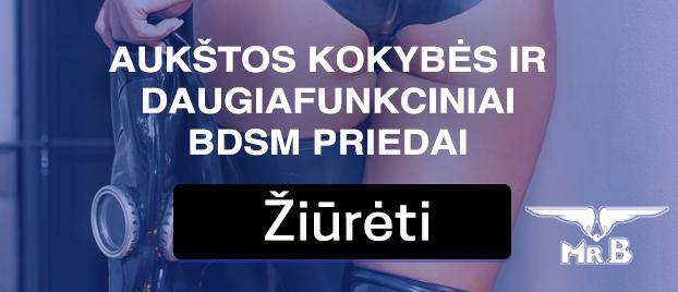 Aukštos kokybės ir daugiafunkciniai BDSM priedai.