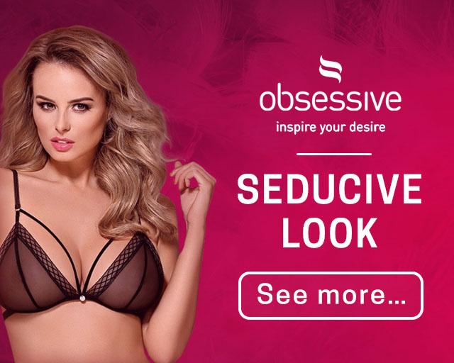 Obsessive lingerie Seducive look