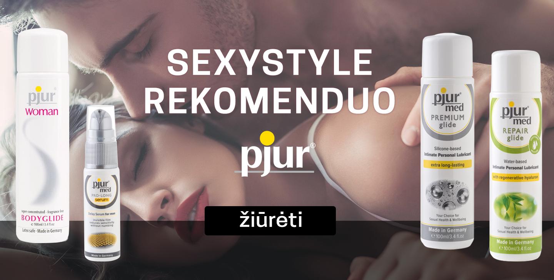 Sexystyle rekomenduoja Pjur
