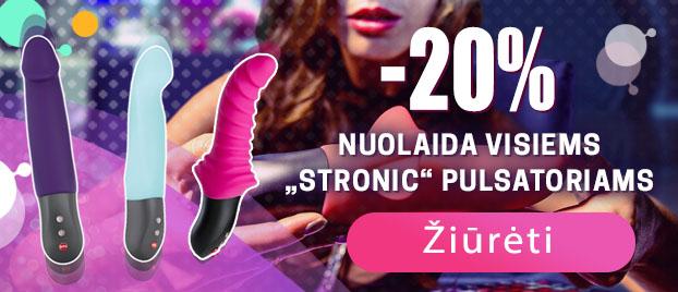 """20% nuolaida visiems """"Stronic"""" pulsatoriams"""