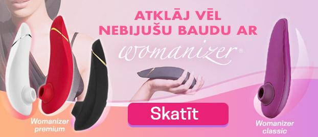 Womanizer premium Jaunās tehnoloģijas: Autopilots un Viedklusums vēl ērtākai izmantošanai!