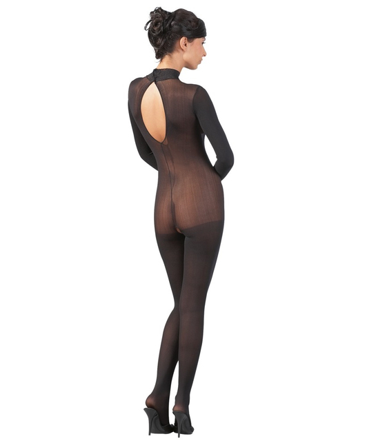 Mandy Mystery Lingerie musta värvi kassi kostüüm