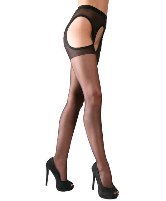 Cottelli Collection Tights Crotchless