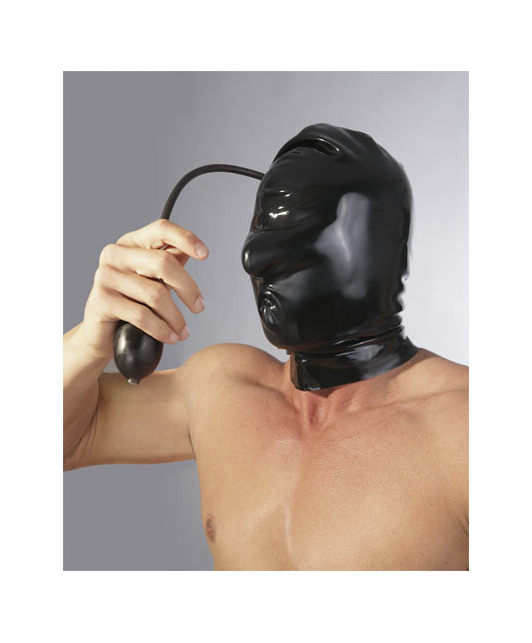 Late X Inflatable Latex Hood