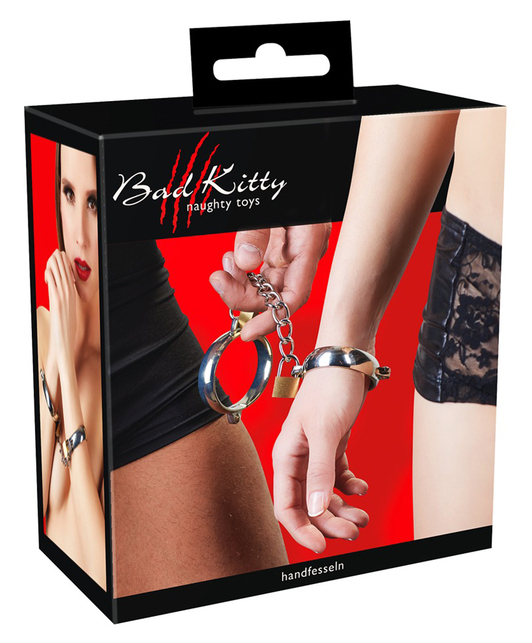Bad Kitty metal handcuffs
