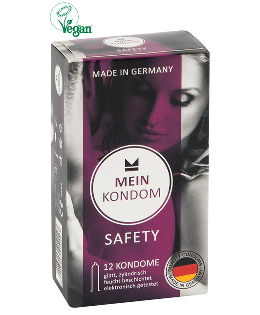 Mein Kondom Safety (12 шт.)