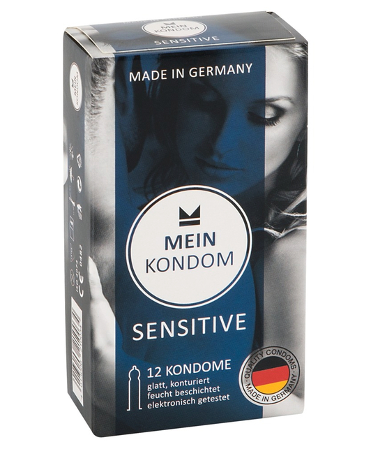 Mein Kondom Sensitive (12 шт.)