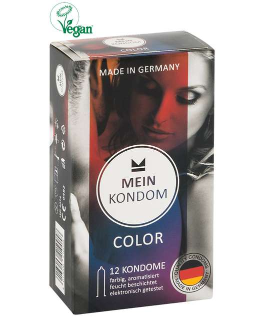 Mein Kondom Color (12 tk.)