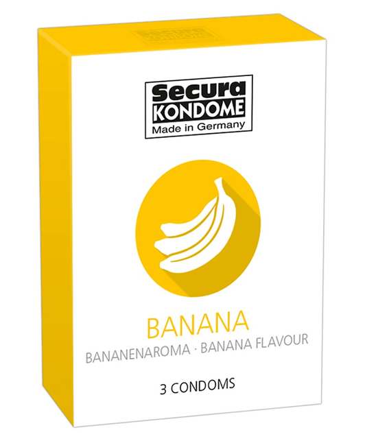 Secura Flavored Condoms (3 pcs)