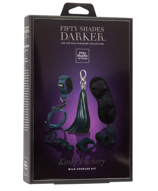 Fifty Shades of Grey Darker Kinky Fuckery Wild Couples Kit