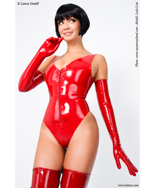 Latexa Body with Long Zipper