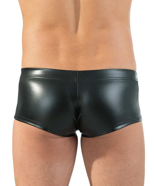 Svenjoyment black matte look trunks