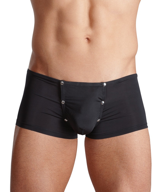 Svenjoyment black trunks with press studs