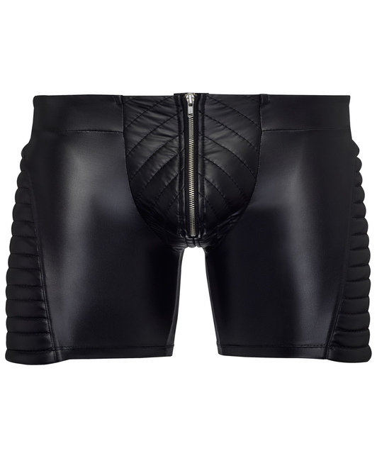 NEK black biker style boxer shorts