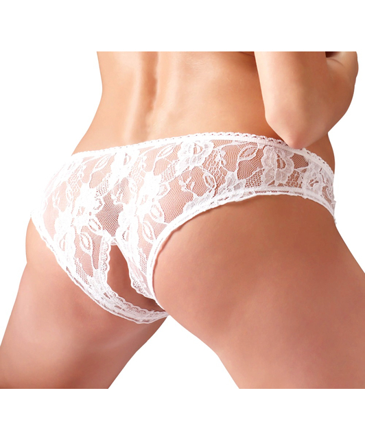 Cottelli Collection Crotchless Panties