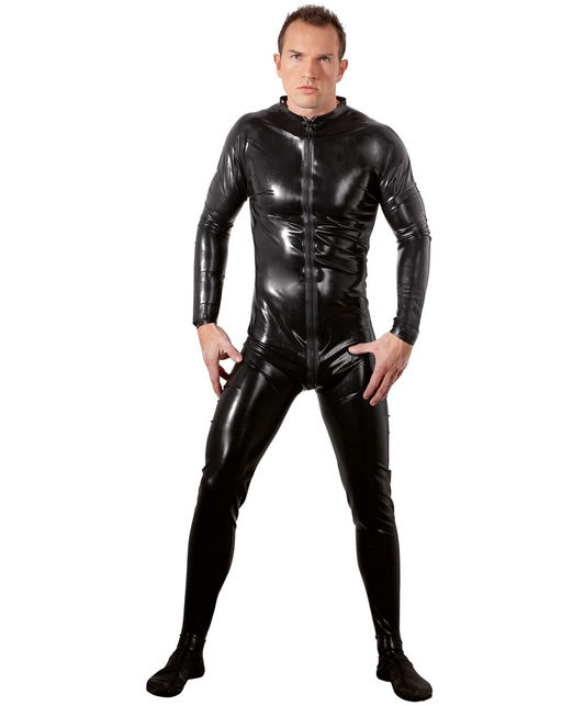 Late X Latex Mens Jumpsuit