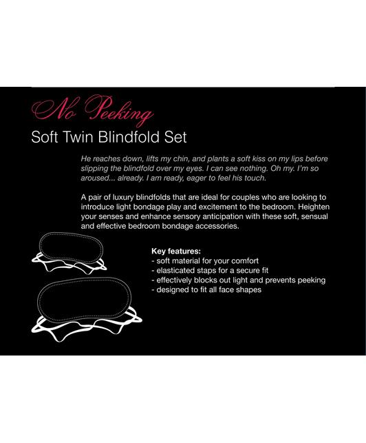 Fifty Shades of Grey No Peeking blindfolds