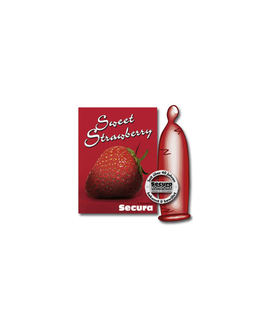 Secura Sweet Strawberry (1 tk.)