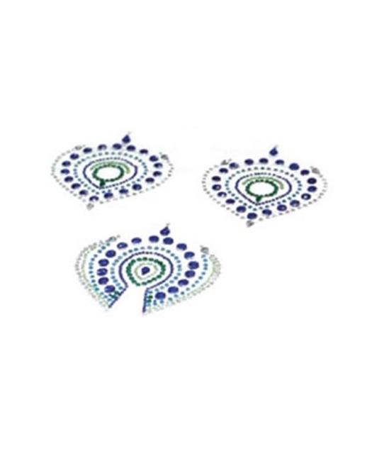 Bijoux Indiscrets Flamboyant ķermeņa dekori (3 gab.)