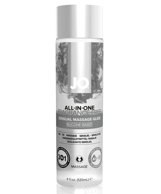 JO All-in-One Sensual Massage Glide (120 ml)