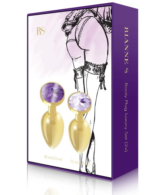Rianne S Booty Plug Luxury Set