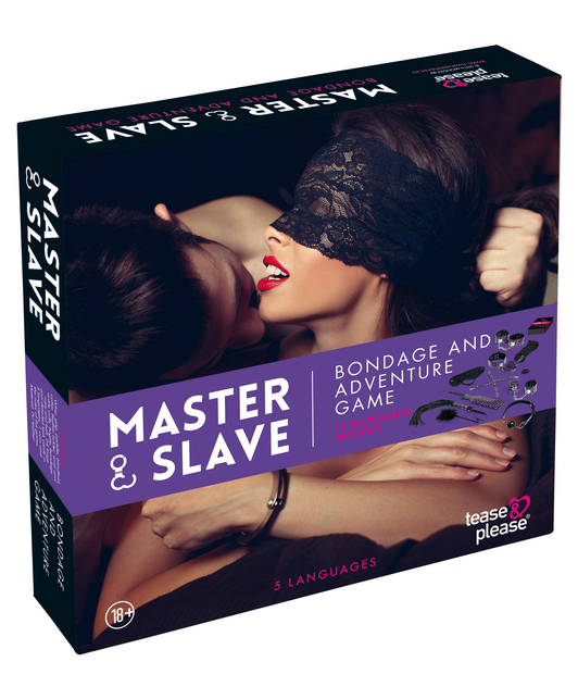 Tease & Please Master & Slave Bondage Game
