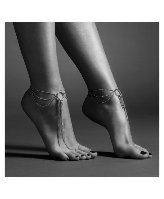 Bijoux Indiscrets metāla ķēdīšu rota kājām