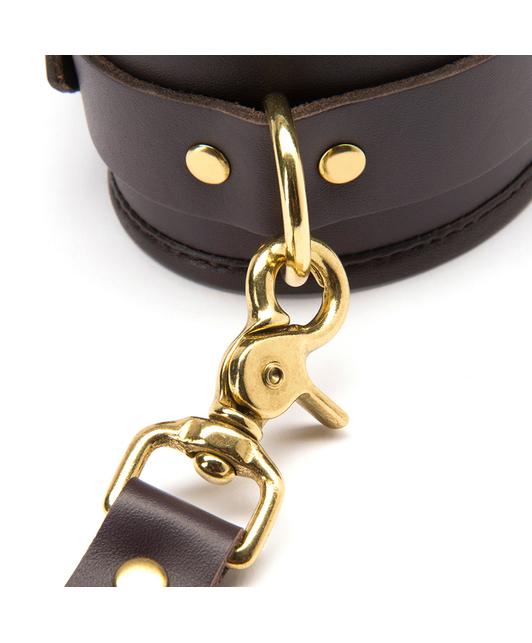 Coco de Mer Leather Wrist Cuffs S/M