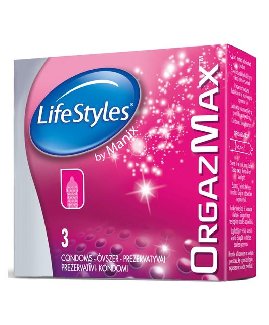 LifeStyles OrgazMax (3 шт.)