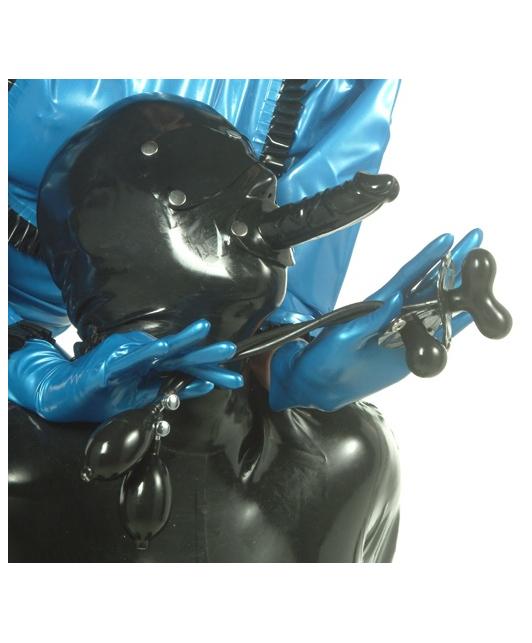 Latexa Inflatable Gag for System Mask