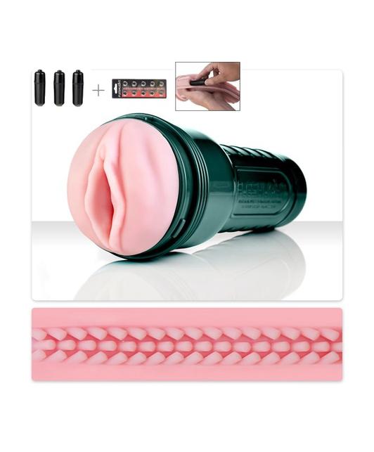 Fleshlight Vibro Pink Lady Touch