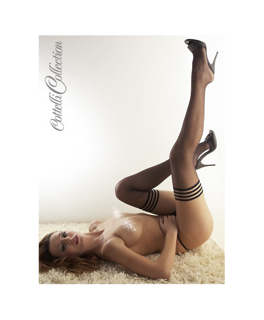 Cottelli Collection Stay-Up Stockings