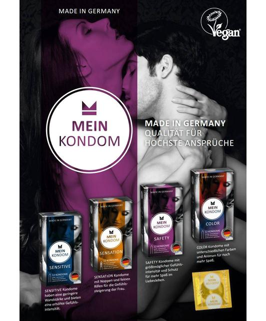Mein Kondom Sensation (12 tk.)