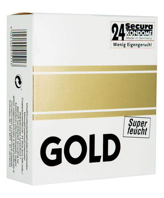 Secura Gold Extra Lubricated (24 pcs)