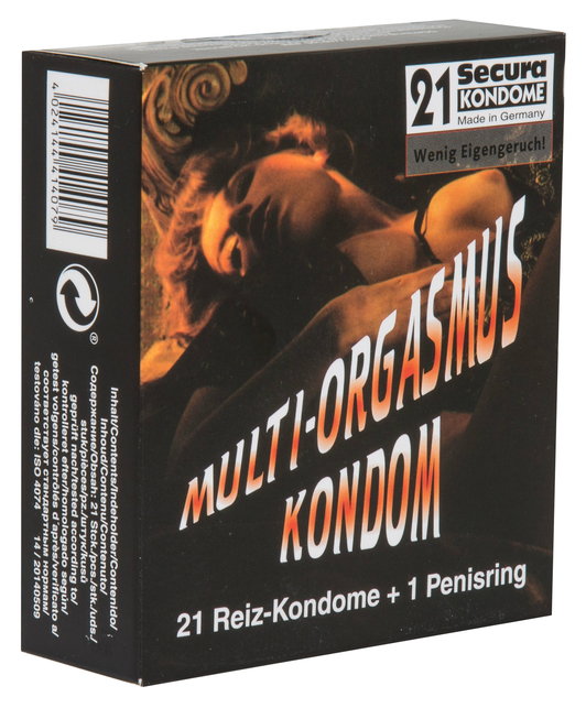 Secura Multi-Orgasmus (21 pcs + cockring)