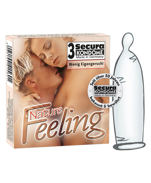 Secura Nature Feeling (3 шт.)